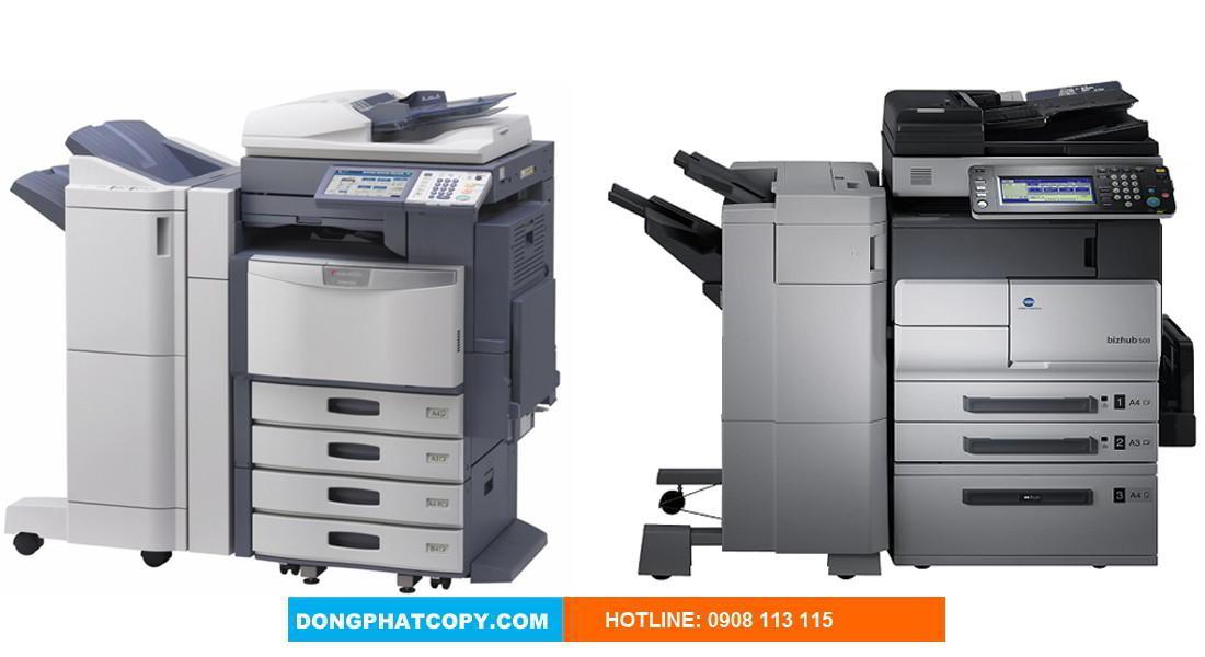 Dịch vụ chuyên cho thuê máy Photocopy giá rẻ chính hãng