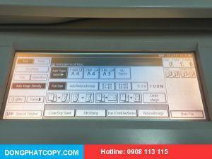 Phím điều khiển trên mặt máy photocopy