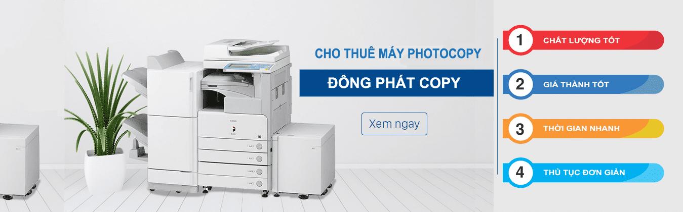banner cho thuê máy photocopy Đông Phát Quận 2 HCM