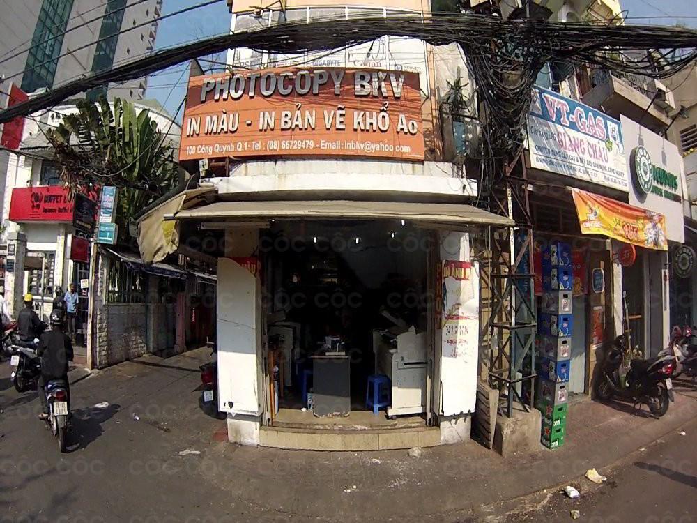 Tiệm photocopy quận 1
