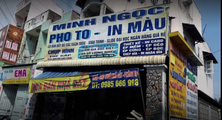 Tiệm photocopy Minh Ngọc Thủ Đức