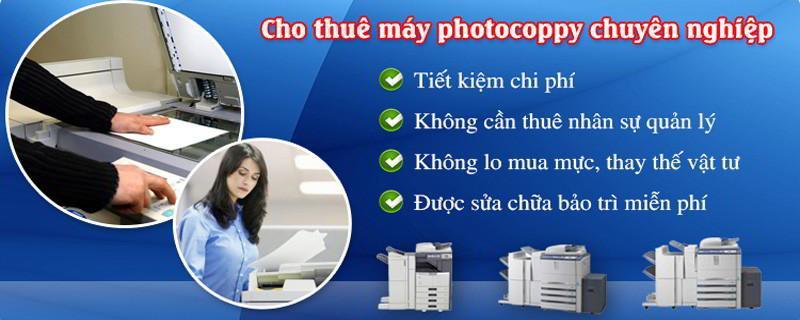 Cho thuê máy photocopy giá rẻ tại HCM