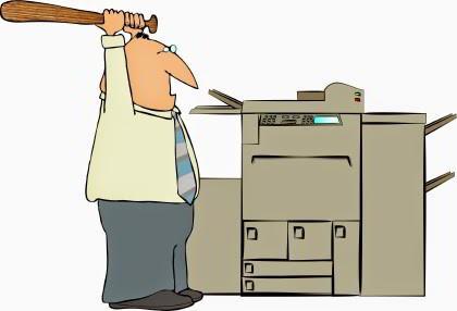May photocopy bi ket giay phai lam sao